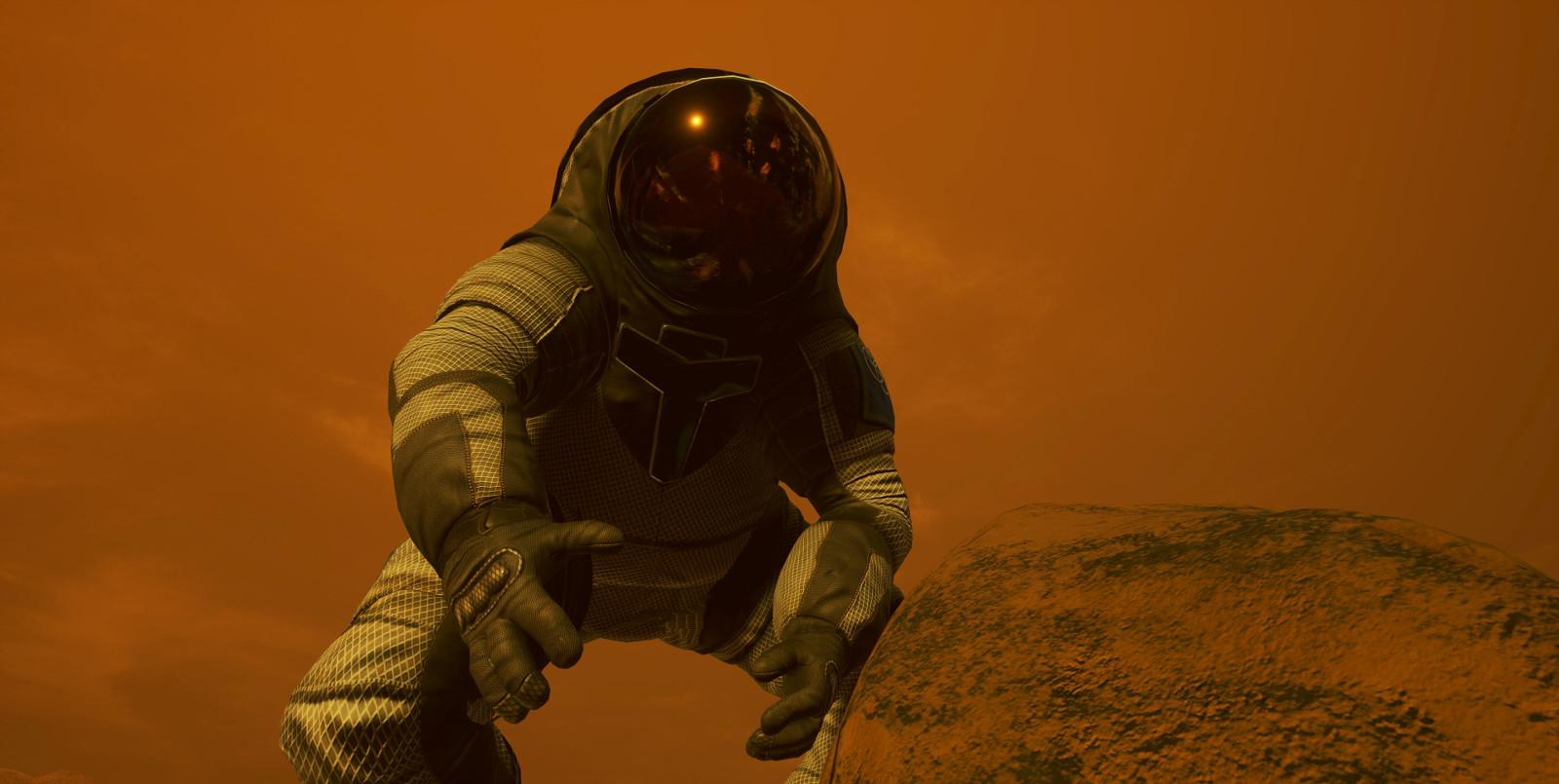 Mira cómo imagina la NASA tu llegada a Marte en el 2030