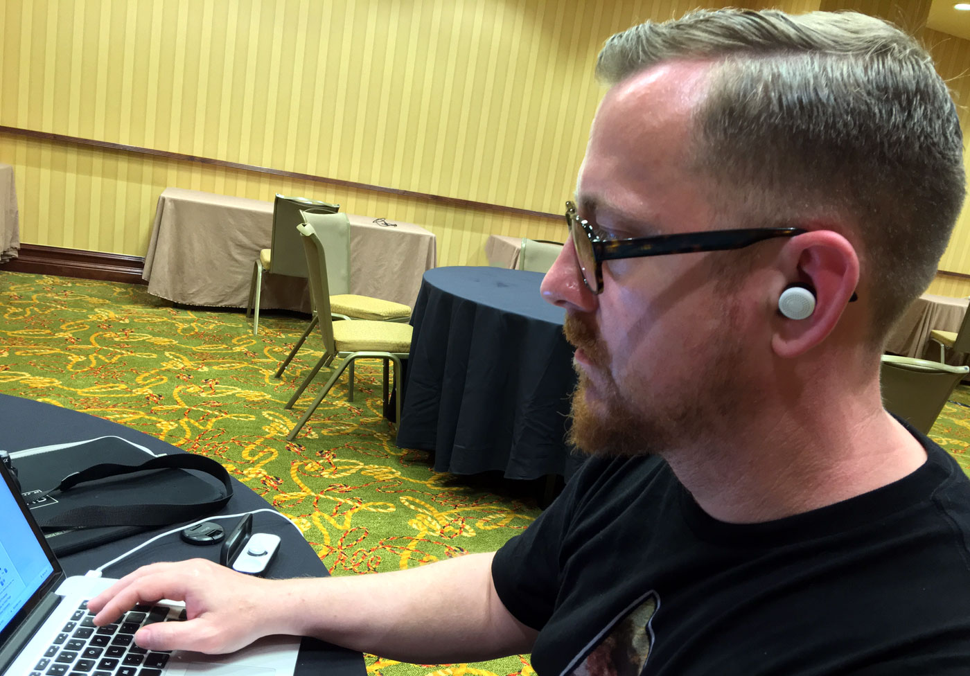 SXSW showed me Here's Active Listening buds are a sound idea