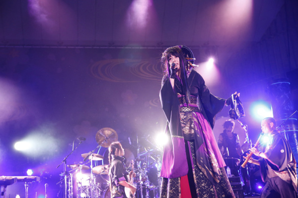 和楽器バンド、野音ツアーファイナルに3,000人! 台湾公演2デイズの完売も報告