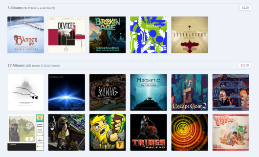 Game Music Bundle 7: Journey, Broken Age, Luftrausers