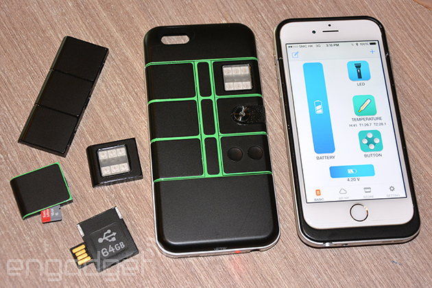 Pretend you've got Project Ara with this modular smartphone case