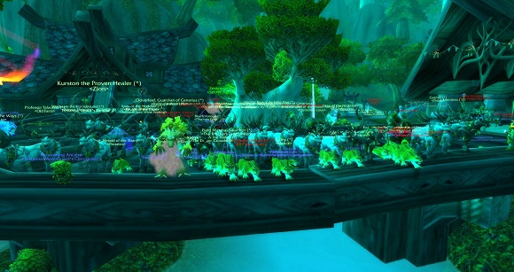 Druids unite in Moonglade