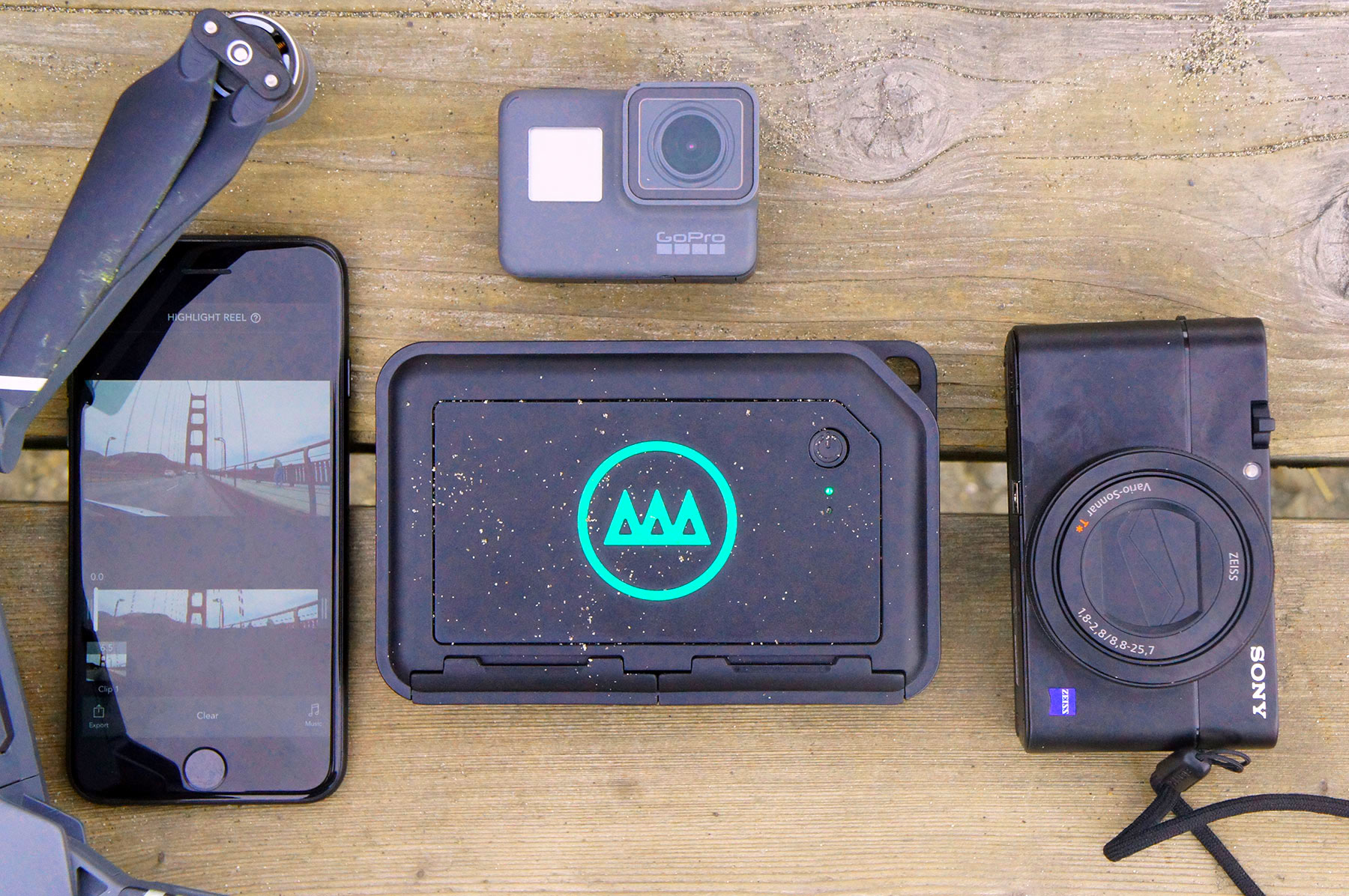 Gnarbox turns your phone into a 4K video editing studio