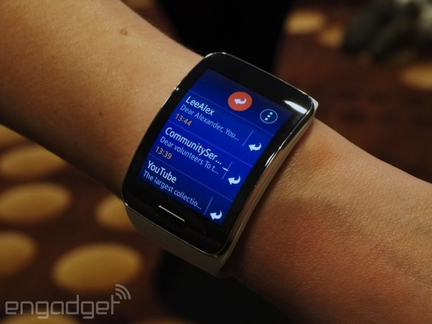 Samsung's no-phone-necessary Gear S watch is coming to the US this fall