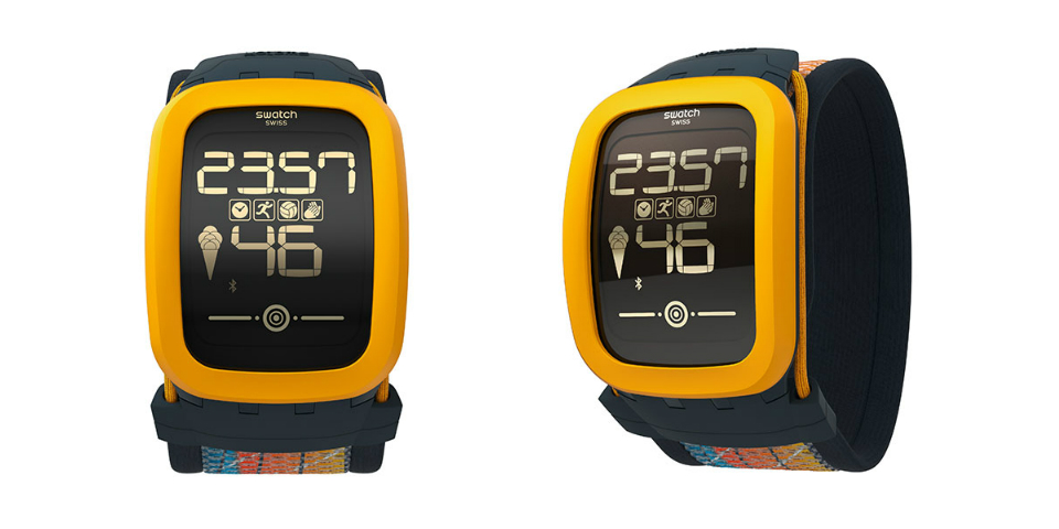 Swatch Touch Zero One tracks your beach volleyball skills