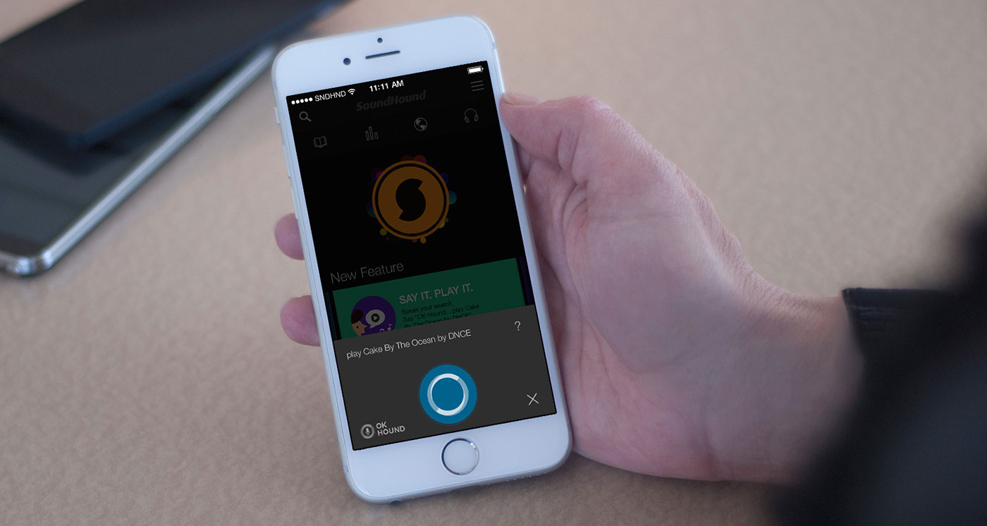SoundHound adds voice search to its music discovery app