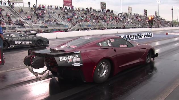 【ビデオ】4,000馬力の「コルベット」が、320km/hを超える速度で宙に舞う!