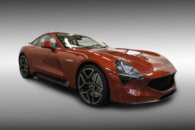 復活を遂げたTVR、500馬力の新型「グリフィス」を発表!