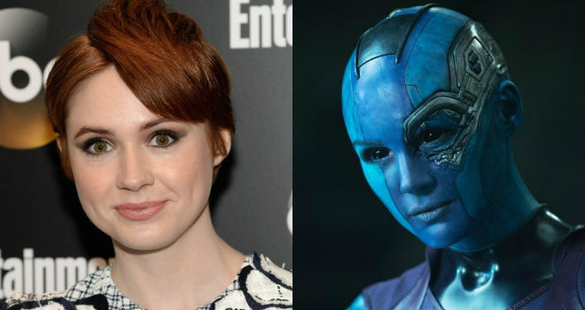 karen gillan guardians of the galaxy