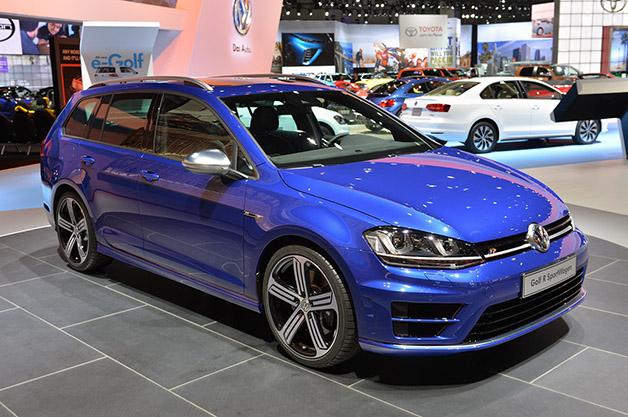 2015 Volkswagen Golf R Variant