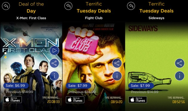 'Movie of the Day' app hopes you'll impulse buy 'X-Men' via iPhone