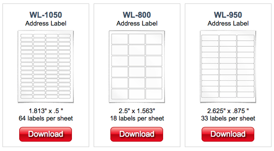 label template for mac