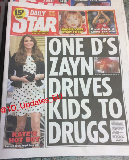 one direction drugs