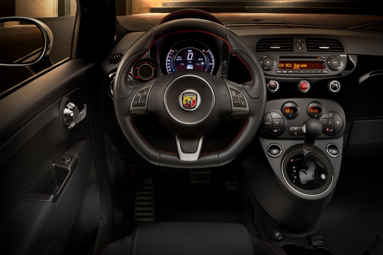 2015 Fiat 500 Abarth Automatic Targets Broader Appeal