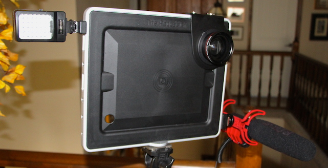 The Padcaster for iPad