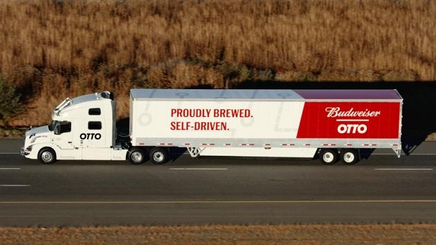 【ビデオ】ビールを積んだ自動運転トラック、190kmの距離を搬送することに成功
