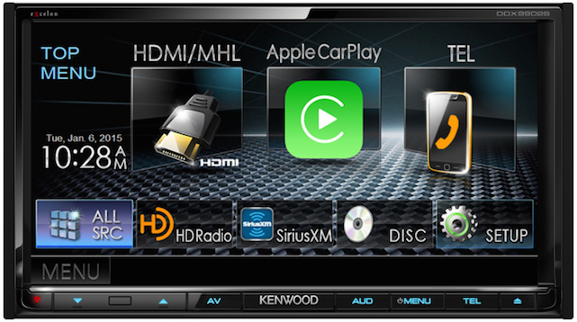Kenwood DDX9902S Multimedia Receiver