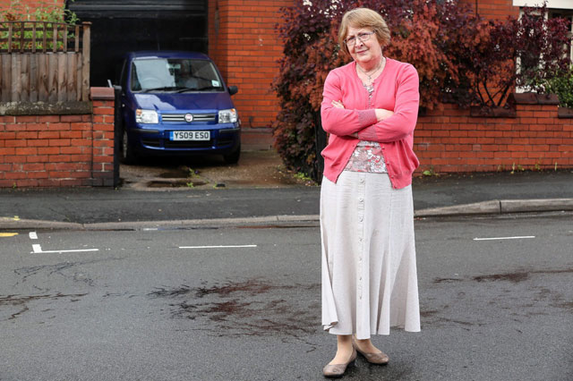 Grandmother stuck in her home after council paints parking bay across driveway