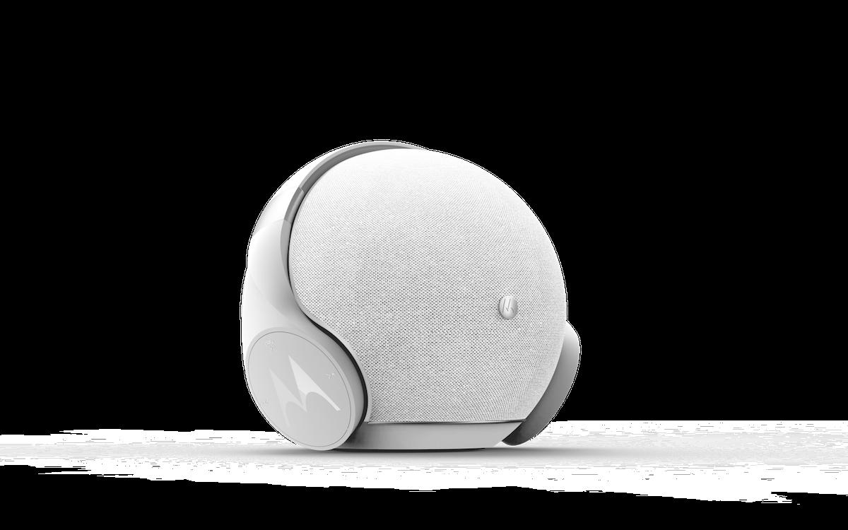 motorola sphere kopfh rer und bluetooth lautsprecher in. Black Bedroom Furniture Sets. Home Design Ideas