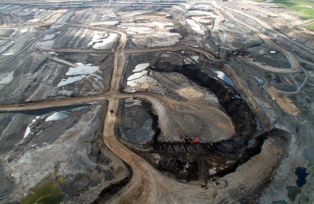 tar oil sands