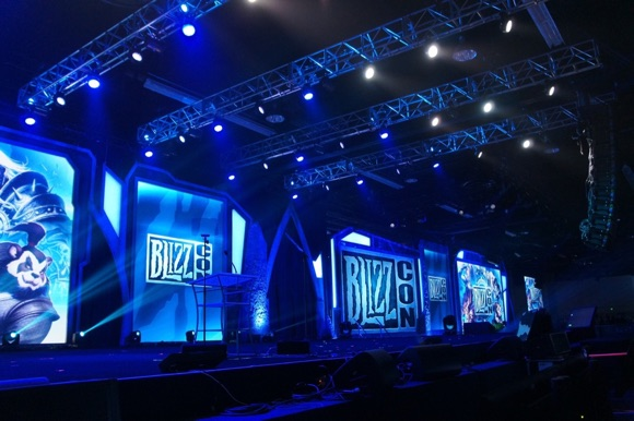 BlizzCon stage