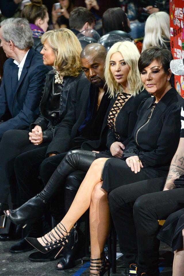 Kim Kardashian Givenchy show PFW