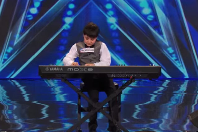 Adrian Romoff wowed judges Heidi Klum and Mel B on America's Got Talent