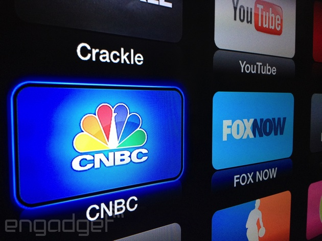 Apple TV gets two new apps: Fox Now and CNBC