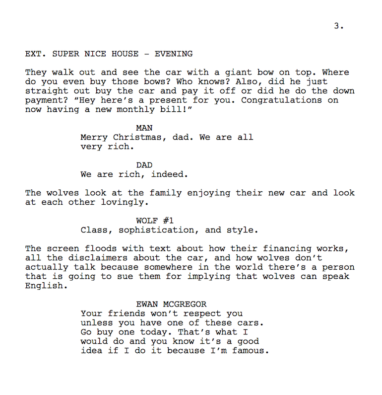 script for infomercial Posts about commercial scripts female written by connectionsmt.