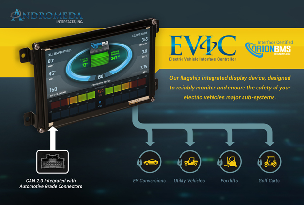 Andromeda Electric Vehicle Interface Controller