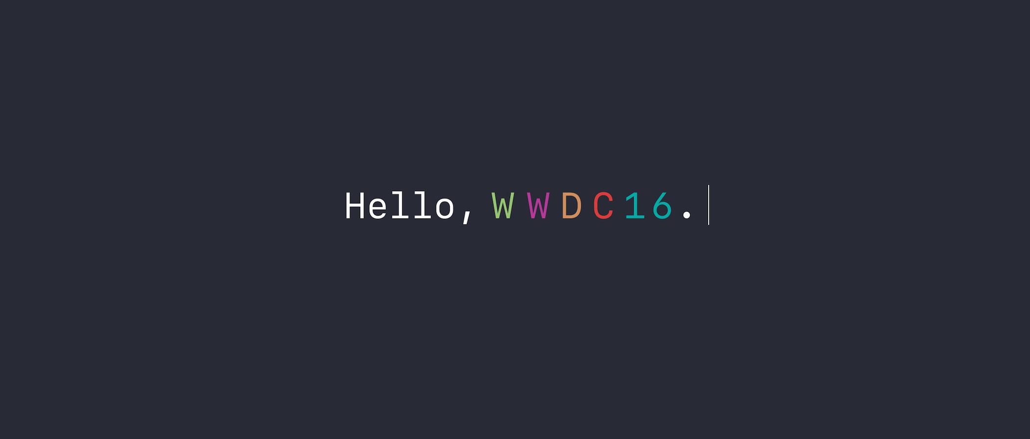 Sigue en vídeo y en directo la WWDC 2016 de Apple