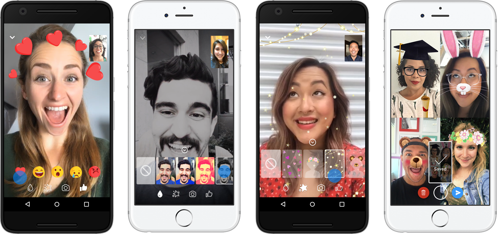 Facebook reminds you Messenger video chat exists with new effects
