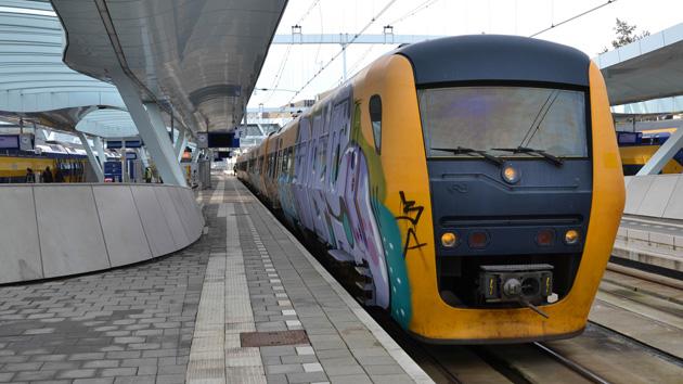 A DM-90 train in Arnhem