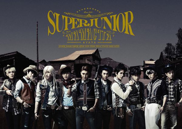 SUPER JUNIOR、最新シングルでオリコン週間ランキング1位獲得!