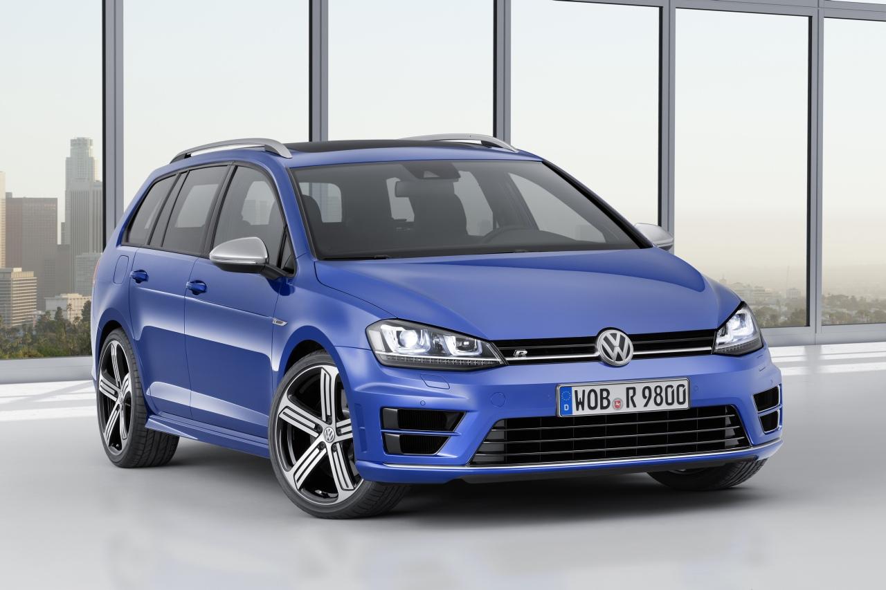 VW Golf R Variant, VW Golf R Kombi, VW Golf R, Sportkombi, L.A. Auto show, Premiere