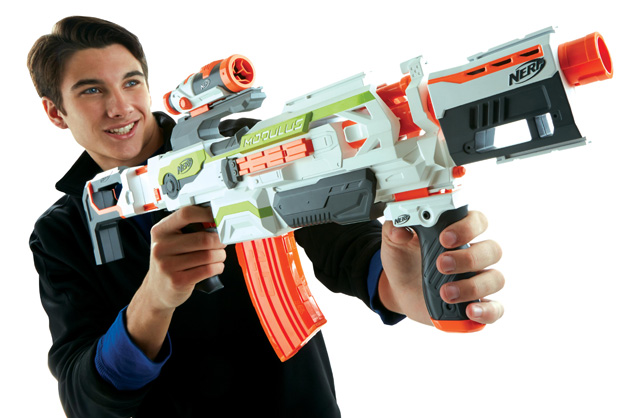 Nerf's higher-powered foam guns are meant for older fans