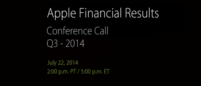 Q3 2014 Earnings Call