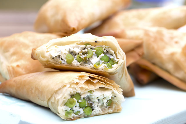Feta cheese triangles recipe