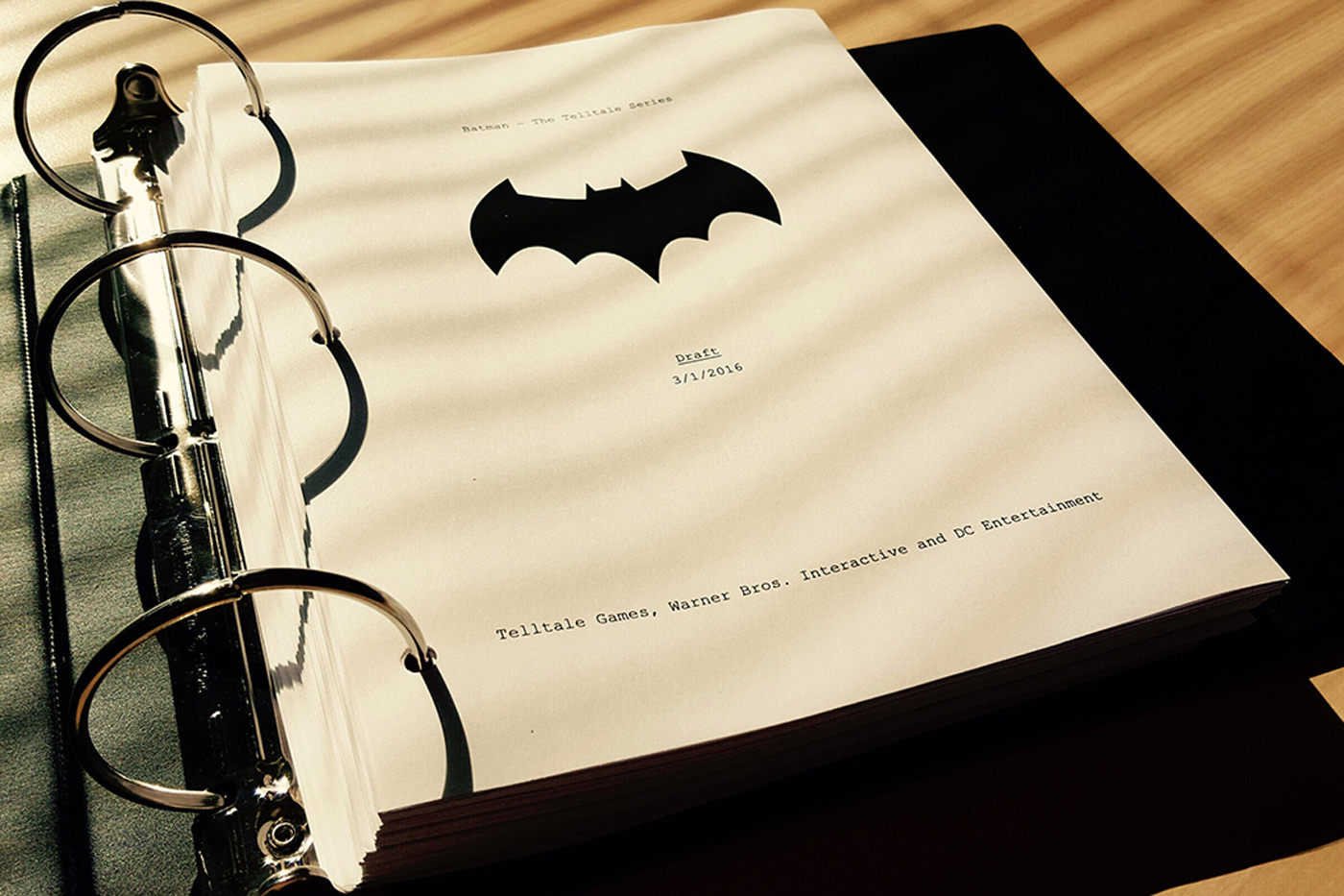 Telltale reveals the first details of its 'Batman' game series