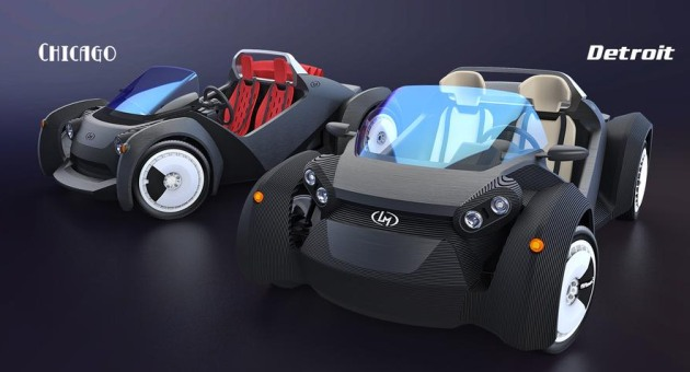 Local Motors' 3D-printed car meets the Detroit Auto Show