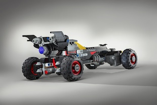 Built using more than 340,000 LEGO® bricks and measuring 17 feet long, the LEGO® Batmobile from Chevrolet has been designed to strike fear in the heart of any villain. The vehicle is inspired by Batmans Speedwagon featured in The LEGO® Batman Movie, which hits U.S. theatres on February 10, 2017