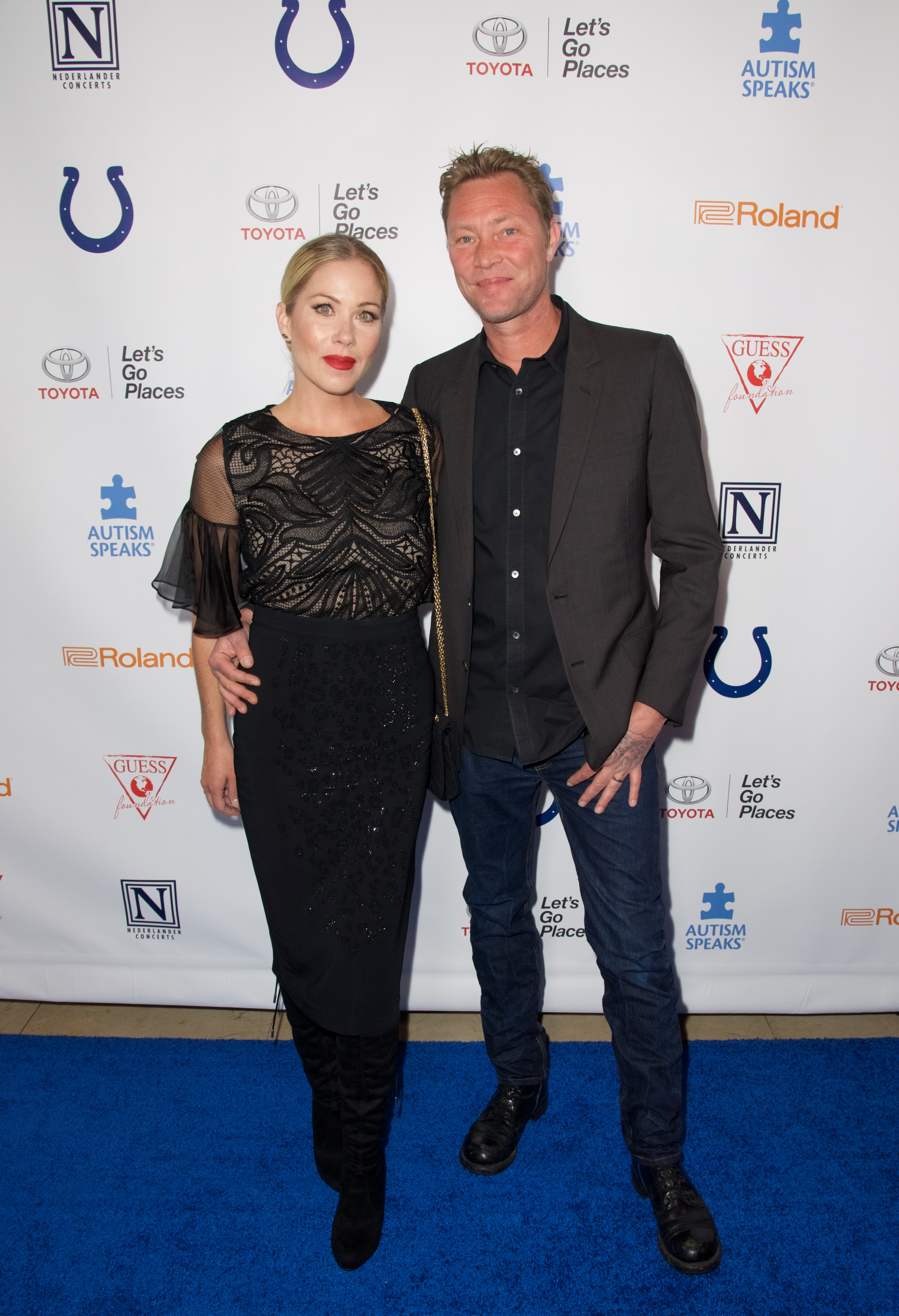 4th Annual Light Up The Blues - Arrivals