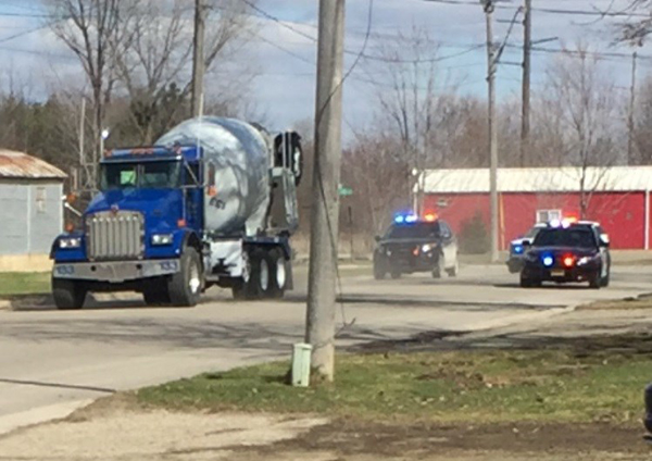Minnesota Cops Go On High-Speed Chase After 11-Year-Old Steals Concrete Mixer