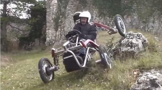 【ビデオ】他のどのクルマとも違う、斬新なオフロードカー「Swincar E-Spider」