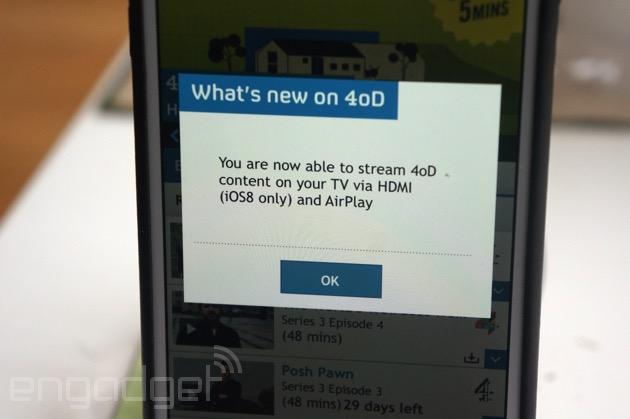 4oD iOS App