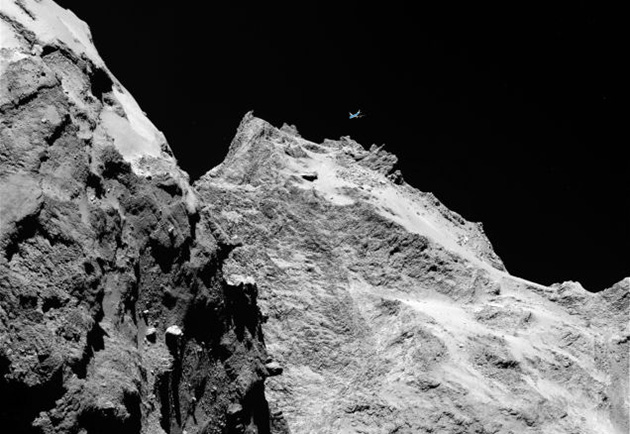 Rosetta's Philae lander touches down on comet after 10-year quest
