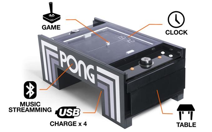 Pong in echt: Tisch-Variante in extrem teuer auf Kickstarter