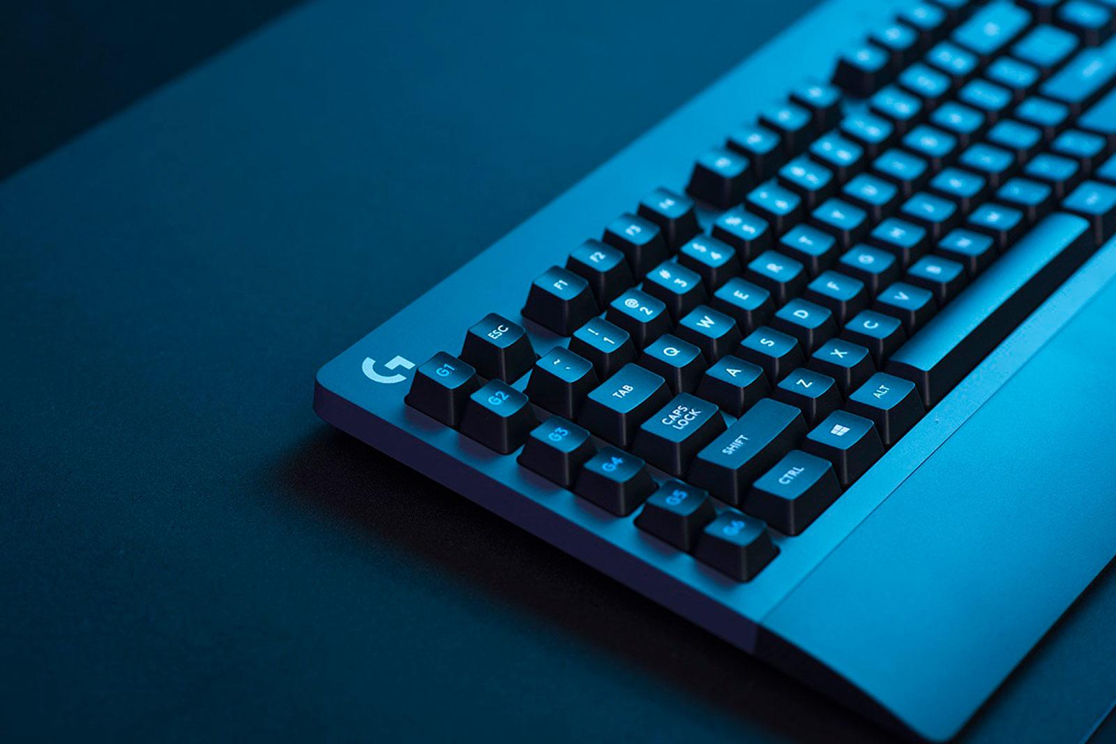 Los nuevos periféricos sin lag de Logitech incluyen un teclado mecánico
