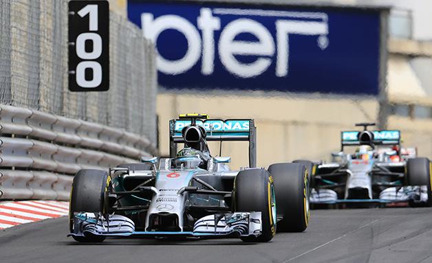 2014 Monaco Grand Prix.