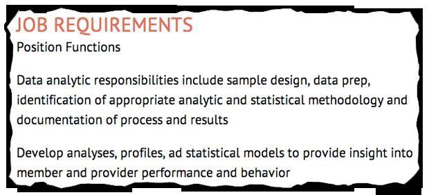 Job Descriptions Decoded: Healthcare Analytics Analyst Position ...